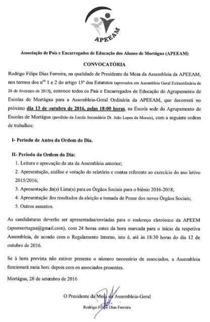 APEEAM-Reuniao